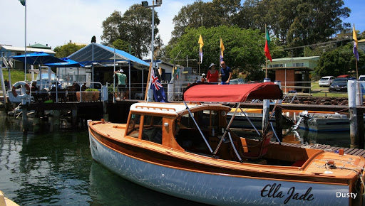 Narooma, swimming, fishing and wooden boats